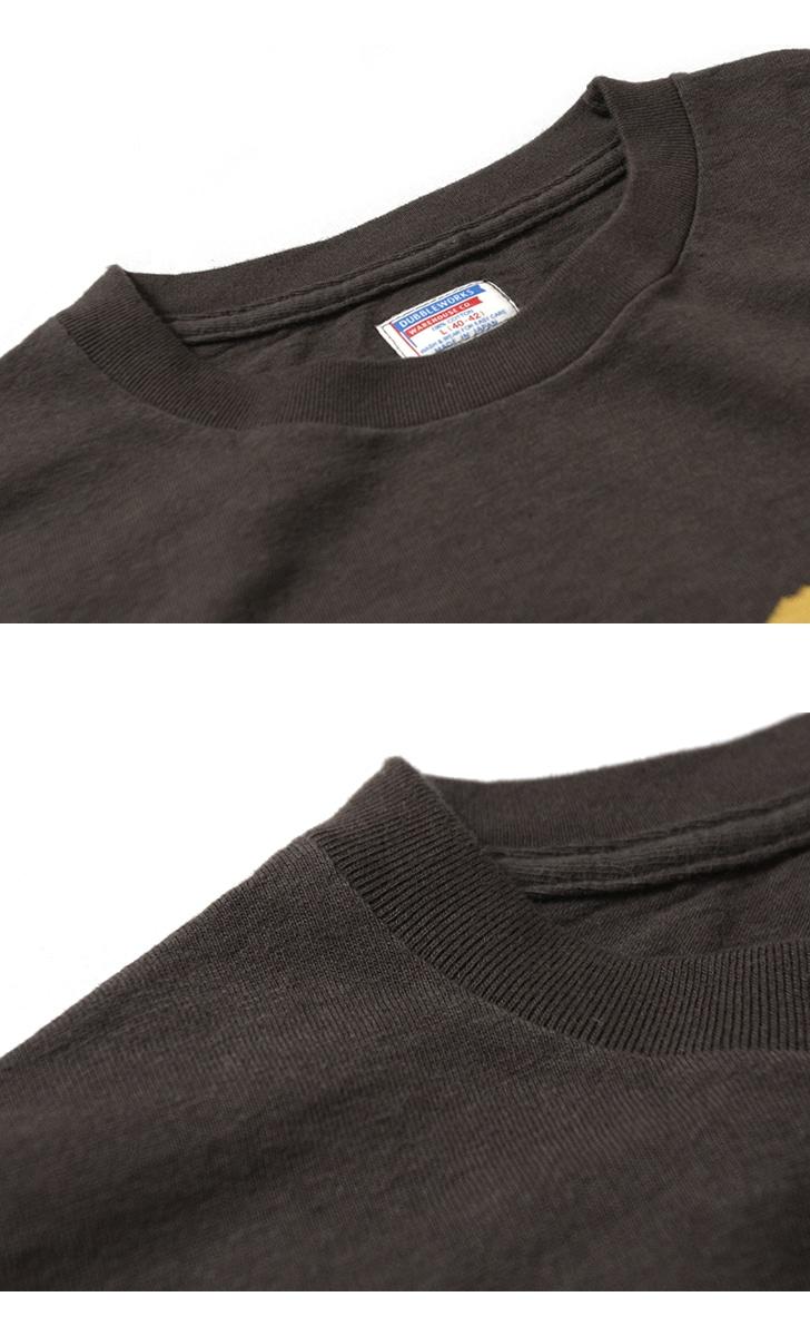 ダブルワークス DUBBLEWORKS 34002 ポケット付き プリントTシャツ [TETON TRAVELERS]