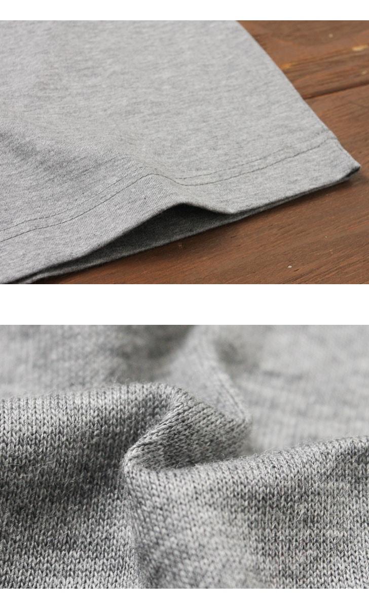 Gicipi ジチピ シルケットコットン クルーネック 半袖 Tシャツ 1704