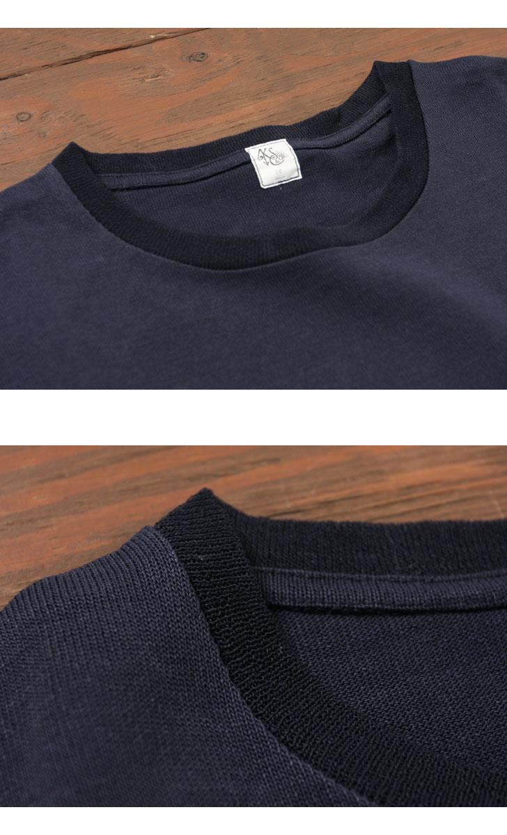 KAPTAIN SUNSHINE キャプテンサンシャイン POCKET TEE(PAPER LOOP WHEEL JERSEY) ポケット付きTシャツ KS7SCS02