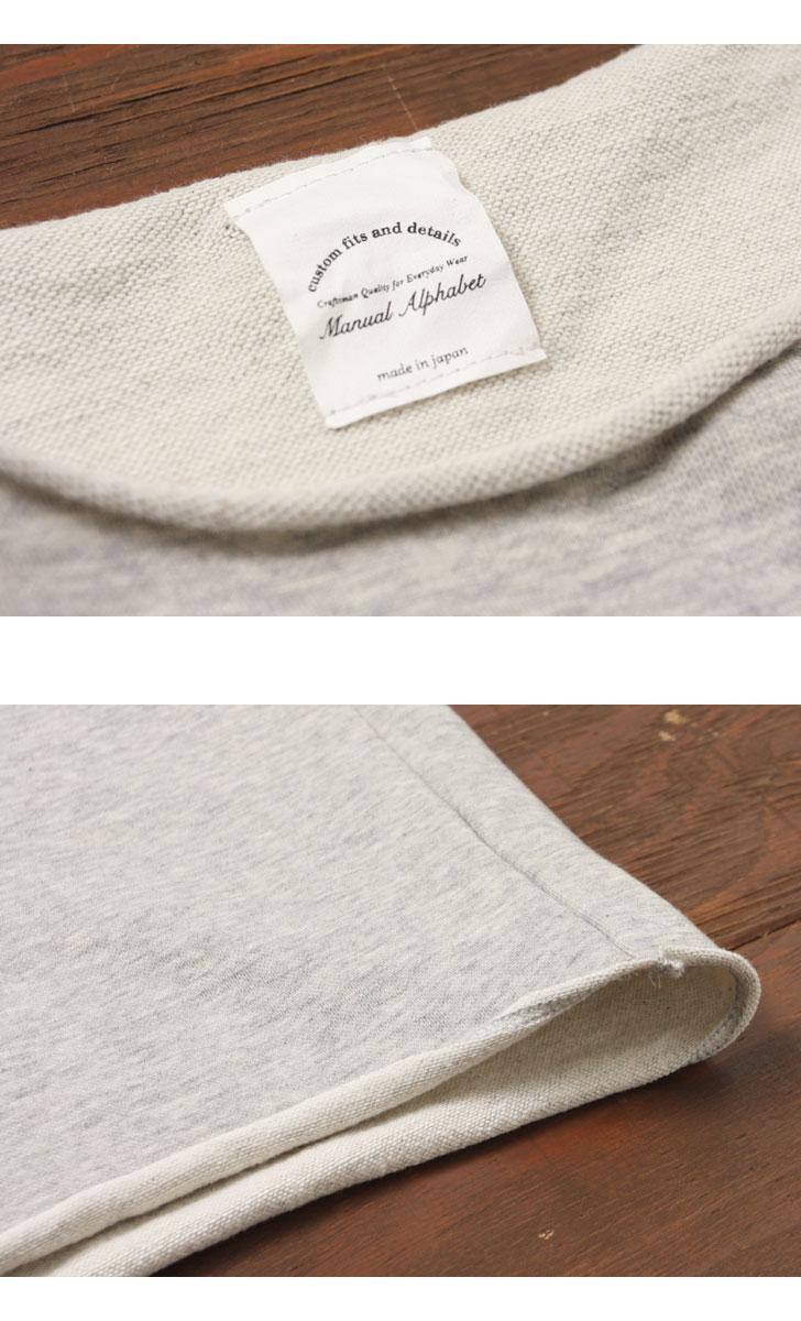 【当店別注】 マニュアルアルファベット MANUAL ALPHABET カットオフ半袖Tシャツ MA-C-042LR