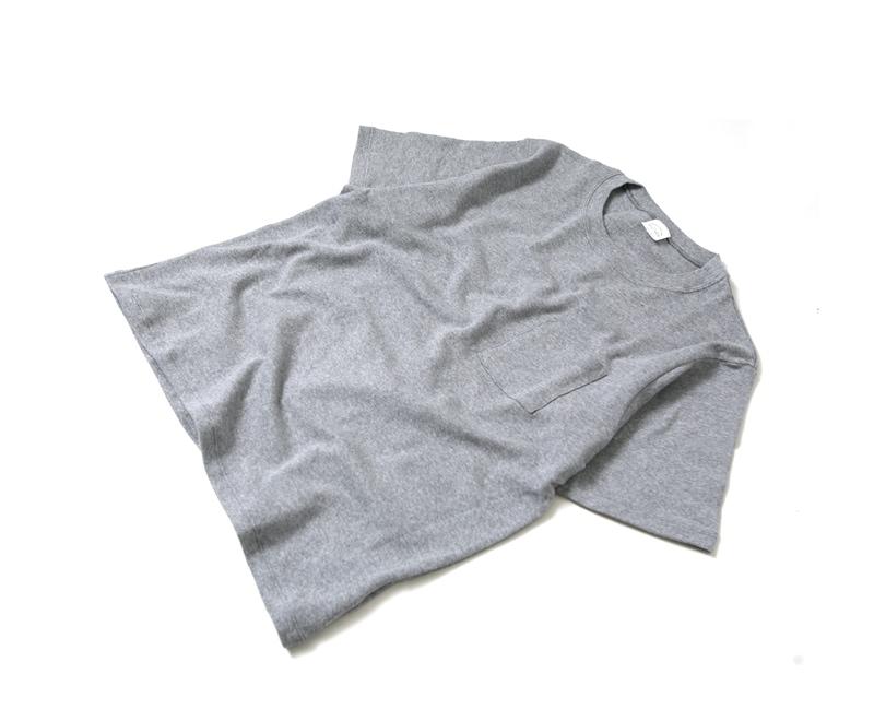 マニュアルアルファベット MANUAL ALPHABET ミリタリーフライス クルーネックTシャツ MK-C-047