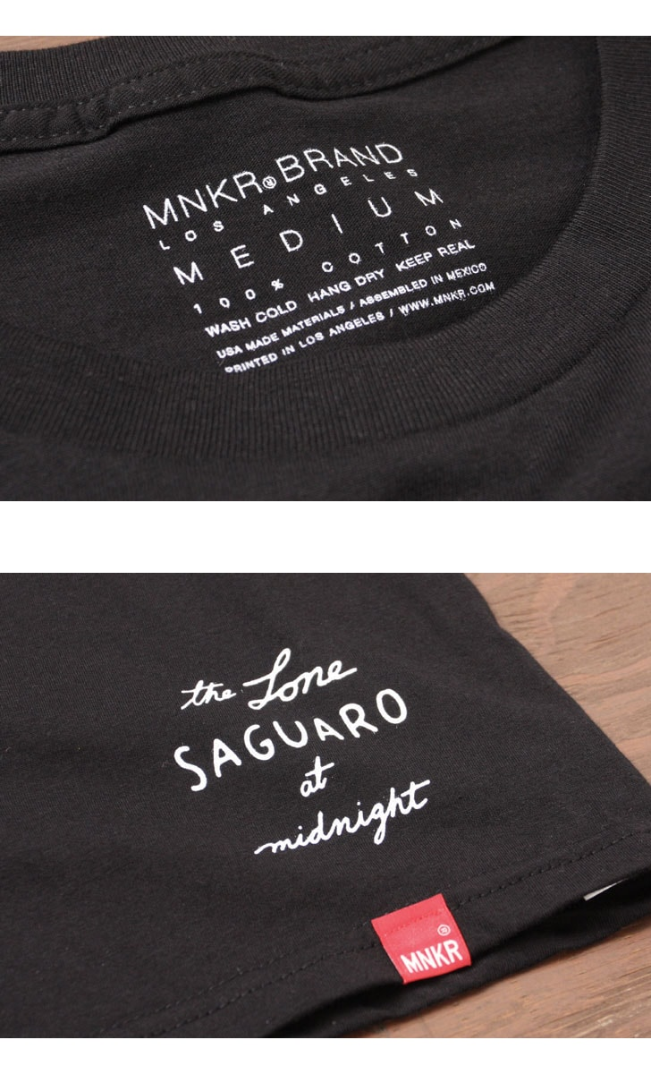 MNKR モニカ プリントTシャツ