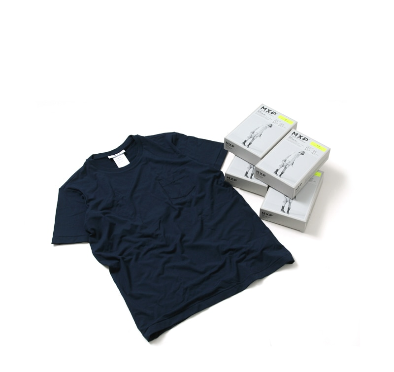MXP ファインドライ クルーネックポケット付半袖Tシャツ MX16103 ゴールドウィン