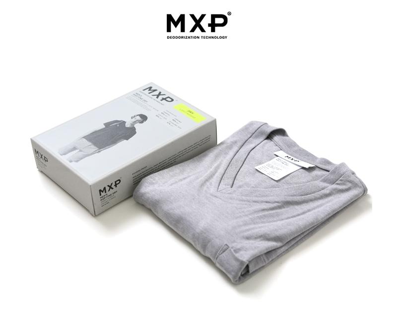 MXP ファインドライ Vネックポケット付半袖シャツ MX16104