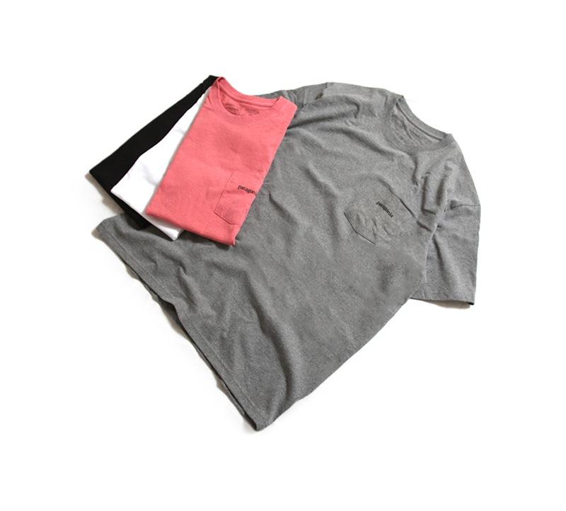 patagonia パタゴニア メンズ・ライン・ロゴ・リッジ・ポケット・レスポンシビリティー 半袖Tシャツ 38441