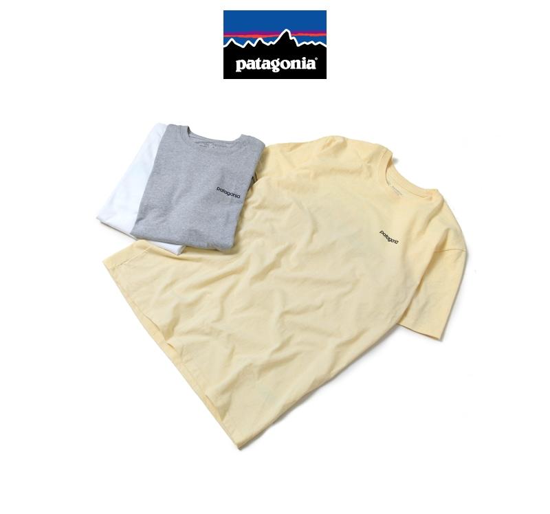 patagonia パタゴニア 半袖Tシャツ メンズ M's Line Logo Badge Responsibili-Tee 39045
