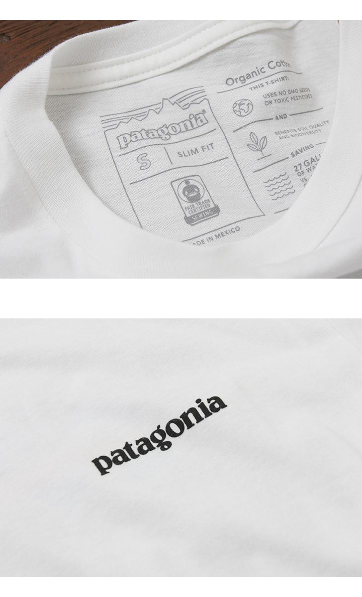 patagonia パタゴニア 半袖Tシャツ メンズ M's P-6 Logo Organic T-Shirt 39151