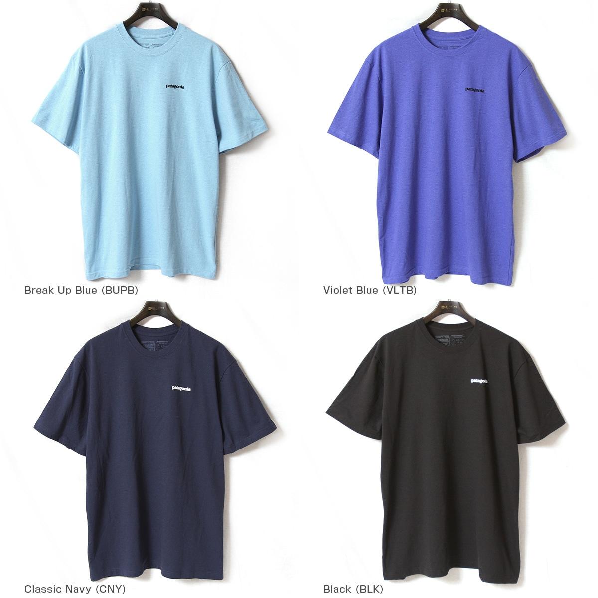 patagonia パタゴニア 半袖Tシャツ メンズ M's P-6 Logo Responsibili-Tee 39174
