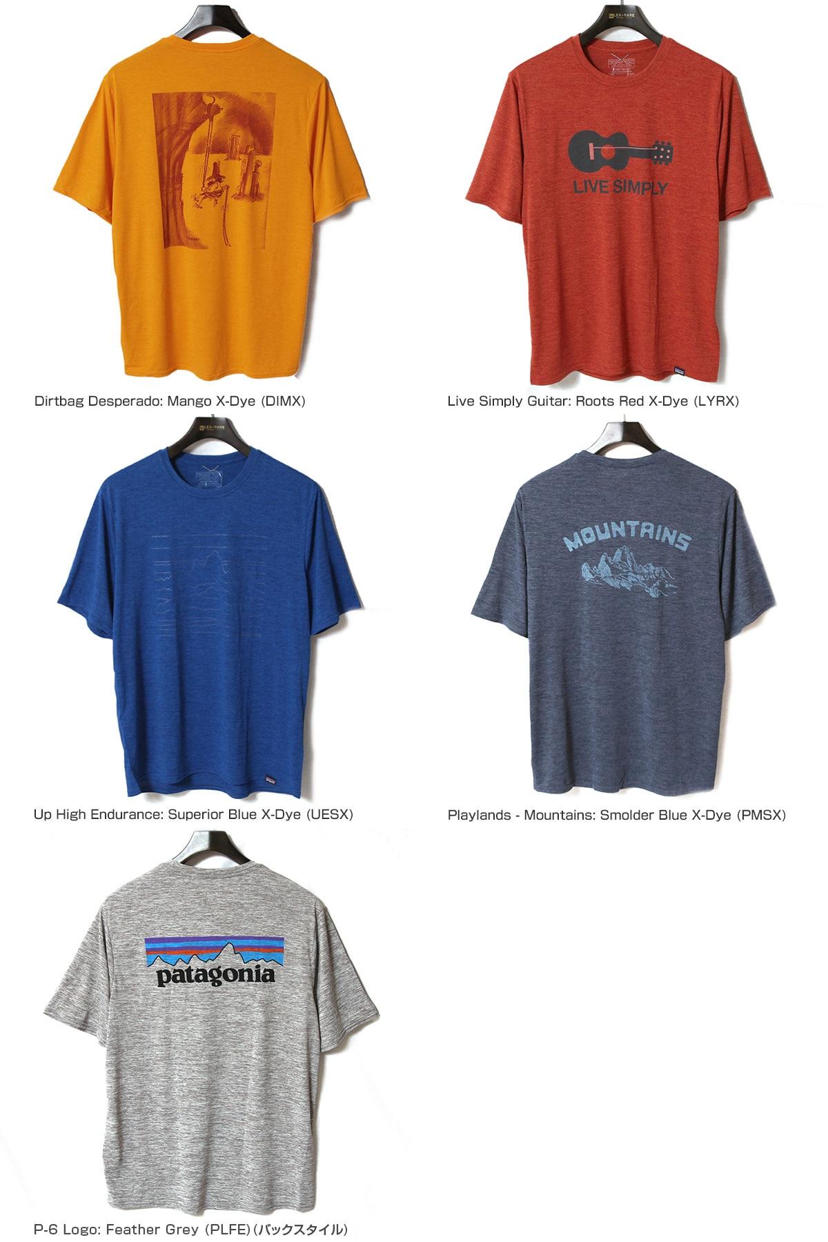 patagonia パタゴニア メンズ・キャプリーン・クール・デイリー・グラフィック・シャツ 半袖Tシャツ 45235