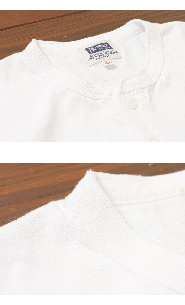 Pherrow's フェローズ ヘンリーネックTシャツ PHNT1
