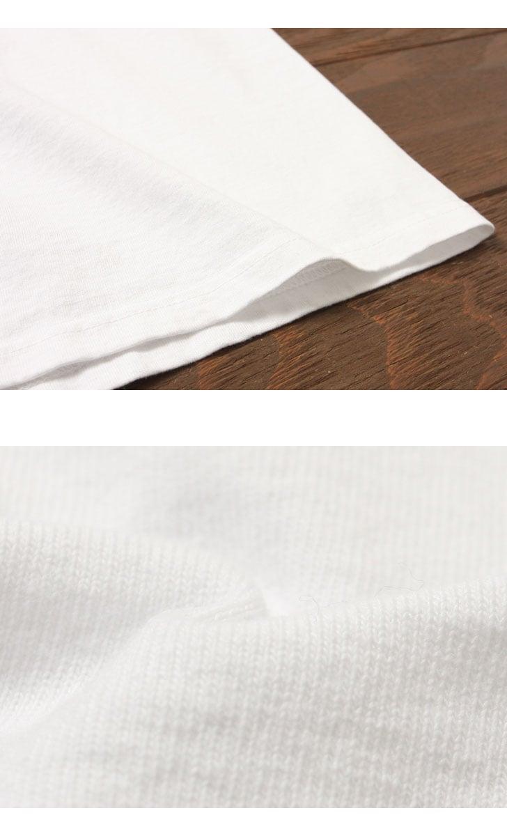 Pherrow's フェローズ 半袖 ワッペン付き プリント Tシャツ [M&W] 17S-PT3