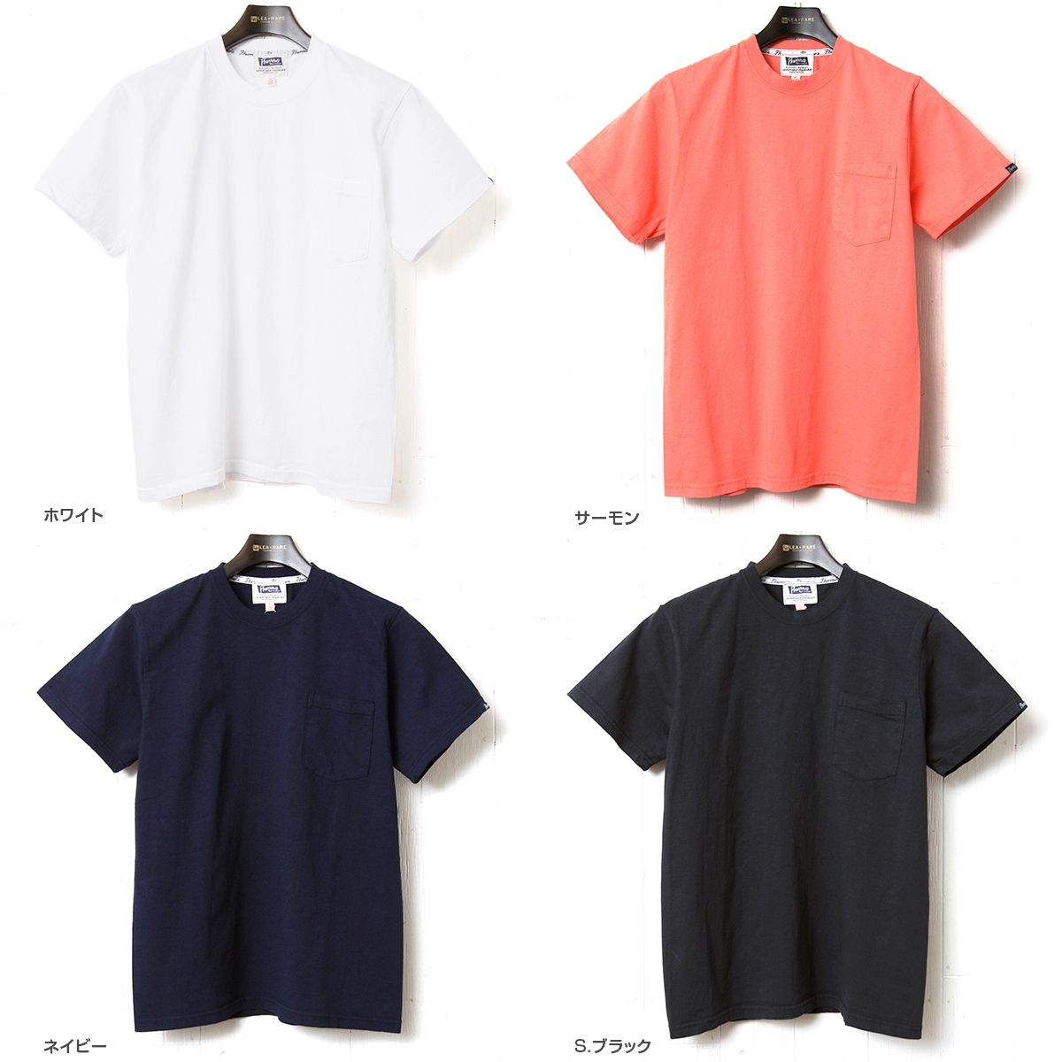 Pherrow's フェローズ ポケットTシャツ 半袖 PPT