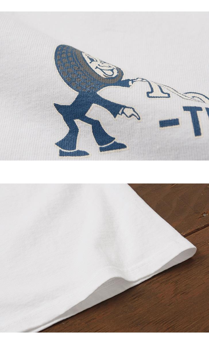 フェローズ 半袖プリントTシャツ [ROMEO TIRE] Pherrow's 18S-PT3