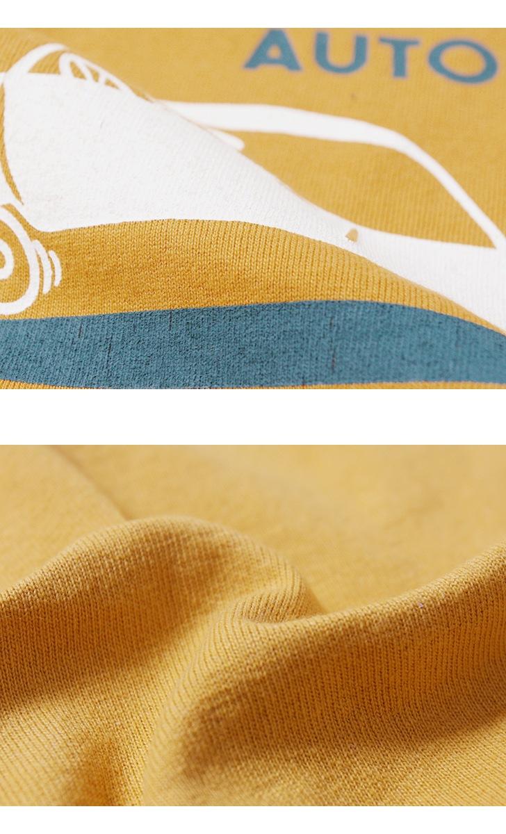 フェローズ 半袖プリントTシャツ [IN & OUT AUTO CARE] Pherrow's 19S-PT12