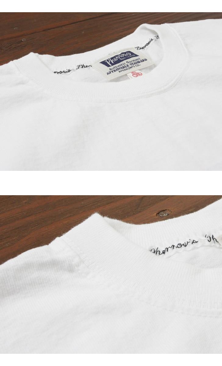 Pherrow's フェローズ Tシャツ 半袖 プリント Pherrow'sロゴ PT1