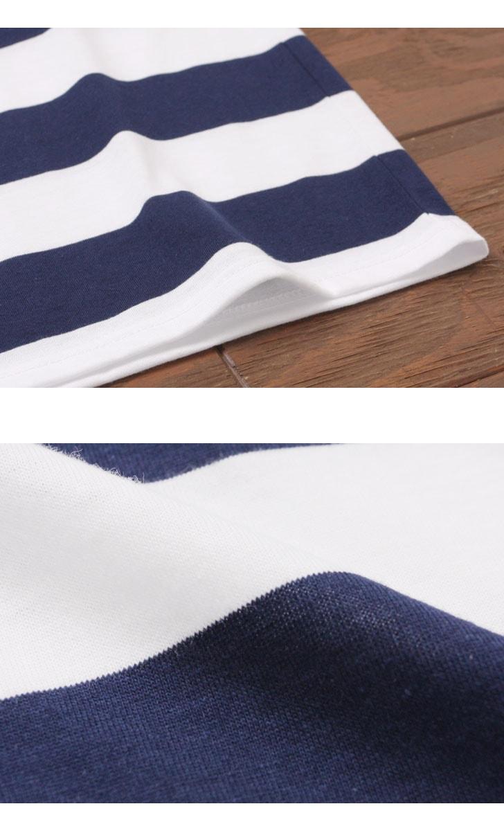セントジェームス ピリアック ワイドボーダー SAINTJAMES PIRIAC 半袖Tシャツ 【レディース&メンズ】
