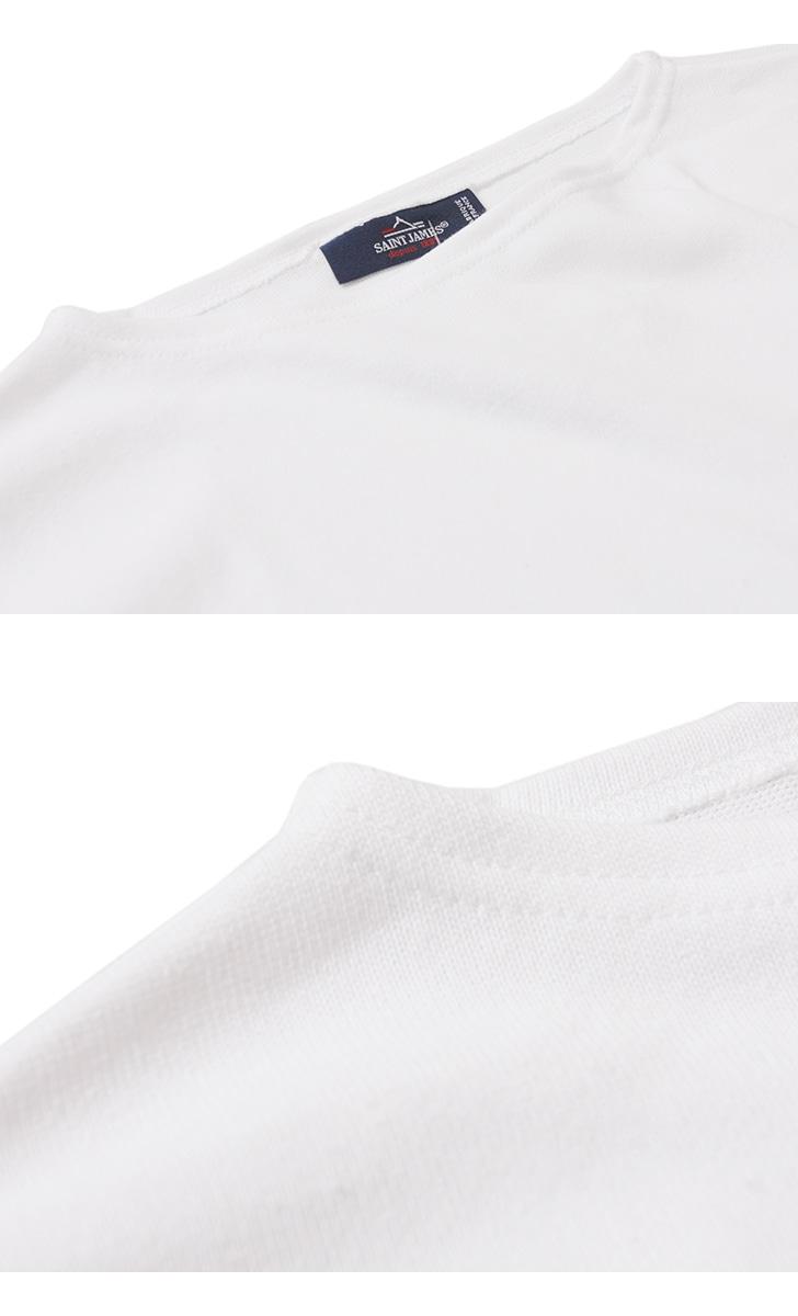セントジェームス ウエッソン ライト 半袖 Tシャツ 無地 SAINTJAMES OUESSANT LIGHT メンズ レディース 17JC OUESS MC