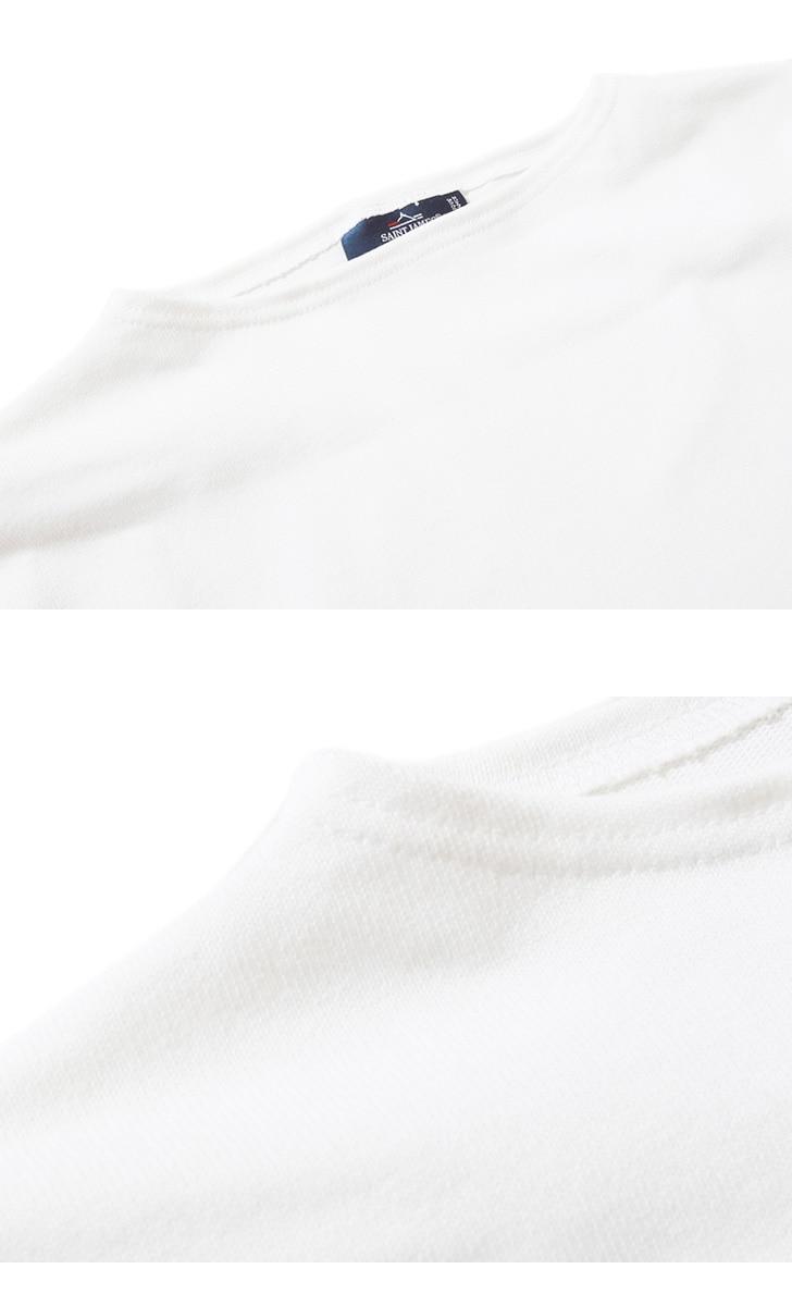 セントジェームス ウエッソン Tシャツ 半袖 ボーダー 無地 バスクシャツ SAINTJAMES OUESSANT メンズ&レディース