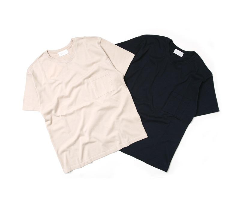 soglia ソリア SUVIN Pocket Knit T-Shirt スヴィン ポケットニットTシャツ