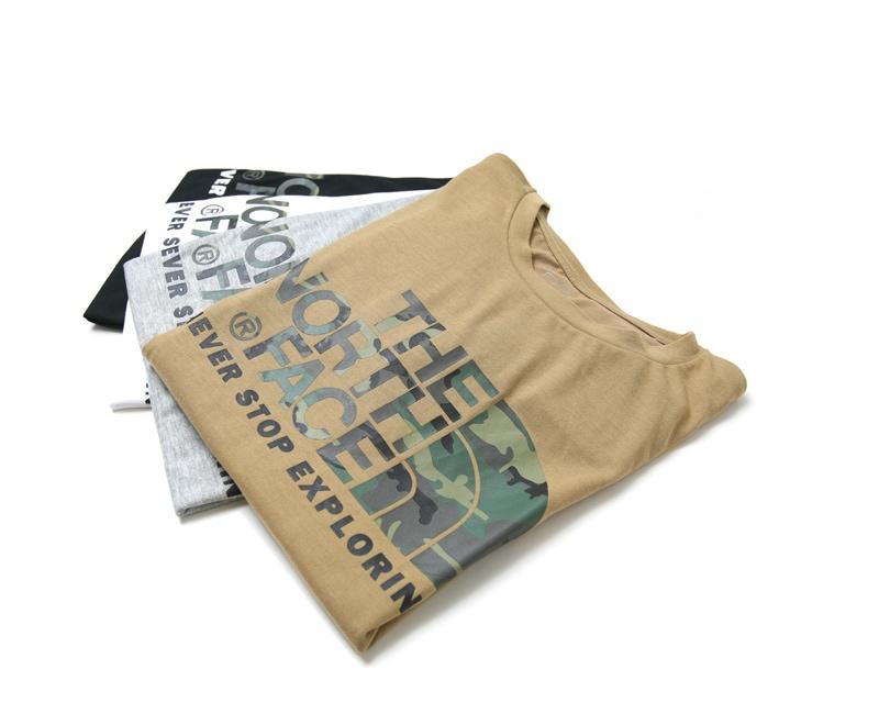 THE NORTH FACE ザ ノースフェイス S/S CAMOUFLAGE LOGO TEE カモフラージュロゴ半袖Tシャツ NT31622