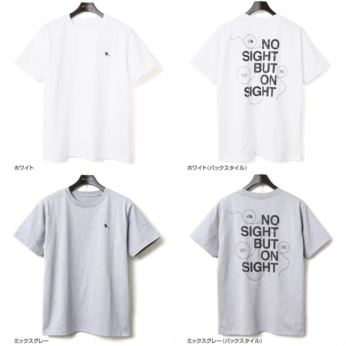 THE NORTH FACE ザ ノースフェイス ショートスリーブモンキーマジックティー 半袖Tシャツ NT31853