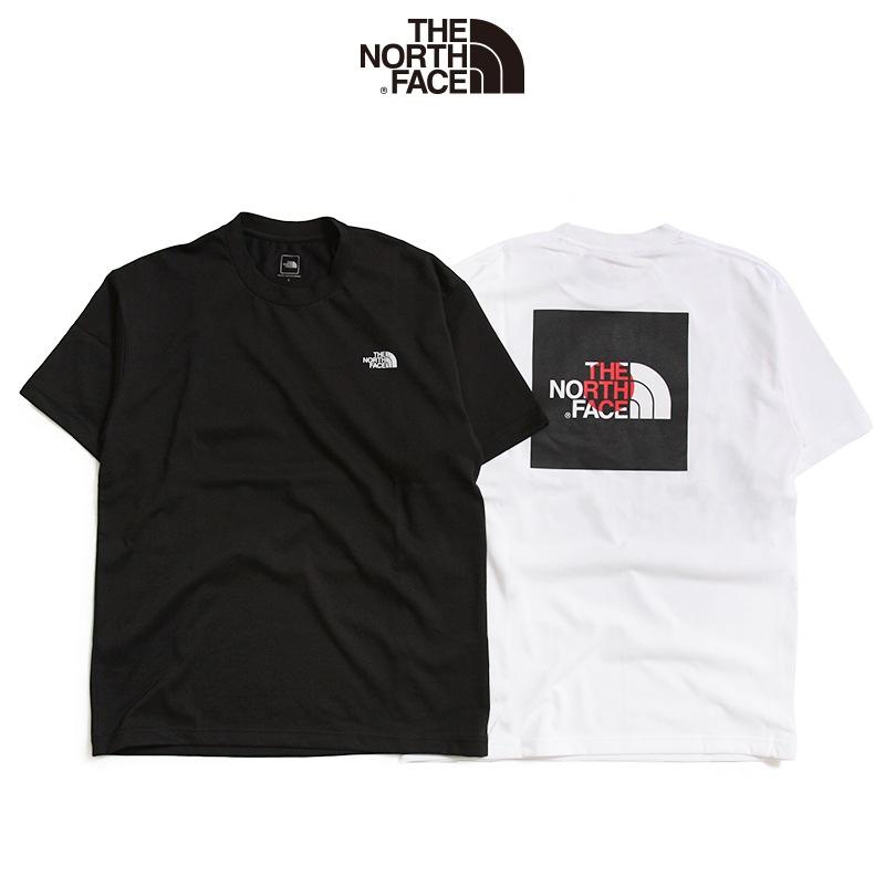 THE NORTH FACE ザ ノースフェイス ショートスリーブナショナルフラッグスクエアロゴティー 半袖Tシャツ NT31943