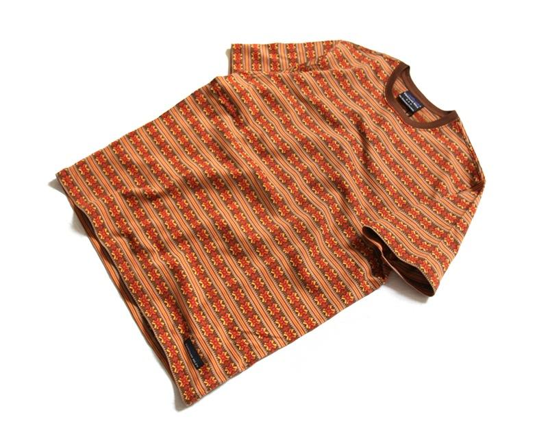 THOUSAND MILE サウザンドマイル ジャガード半袖Tシャツ TM191BJ12020