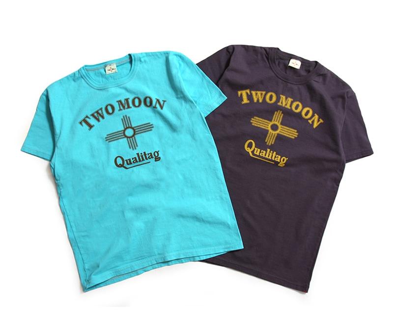 Two Moon トゥームーン プリントTシャツ Qualitag フロントプリント 29114