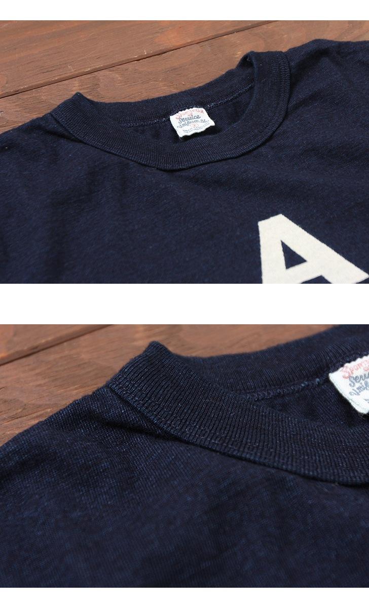 UES ウエス インディゴTシャツ [A HAPPY DAY!] 651845