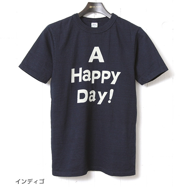 UES ウエス インディゴTシャツ [A HAPPY DAY!] 651715