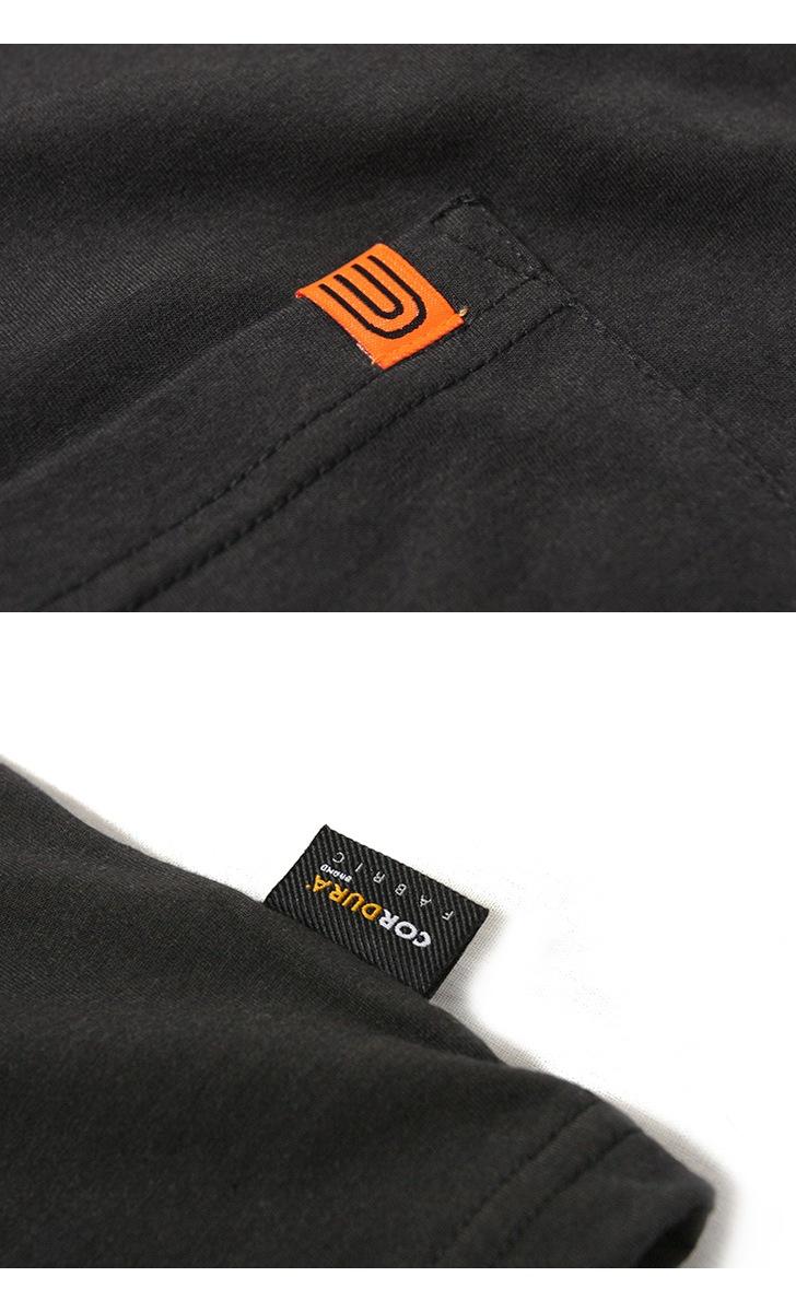 UNIVERSAL OVERALL ユニバーサルオーバーオール コーデュラコットン ポケットTシャツ U913236