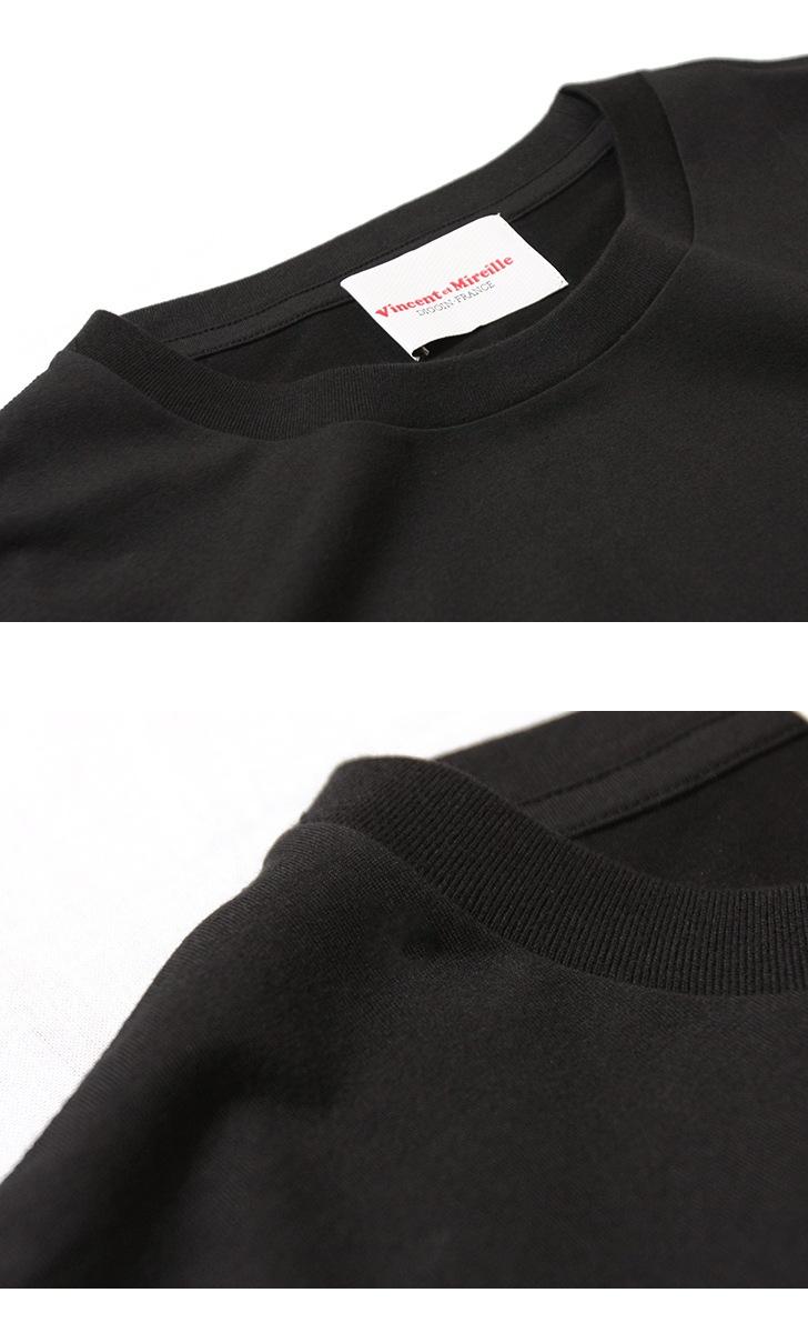 ヴァンソン エ ミレイユ Vincent et Mireille ベーシック半袖Tシャツ VM191BS17111