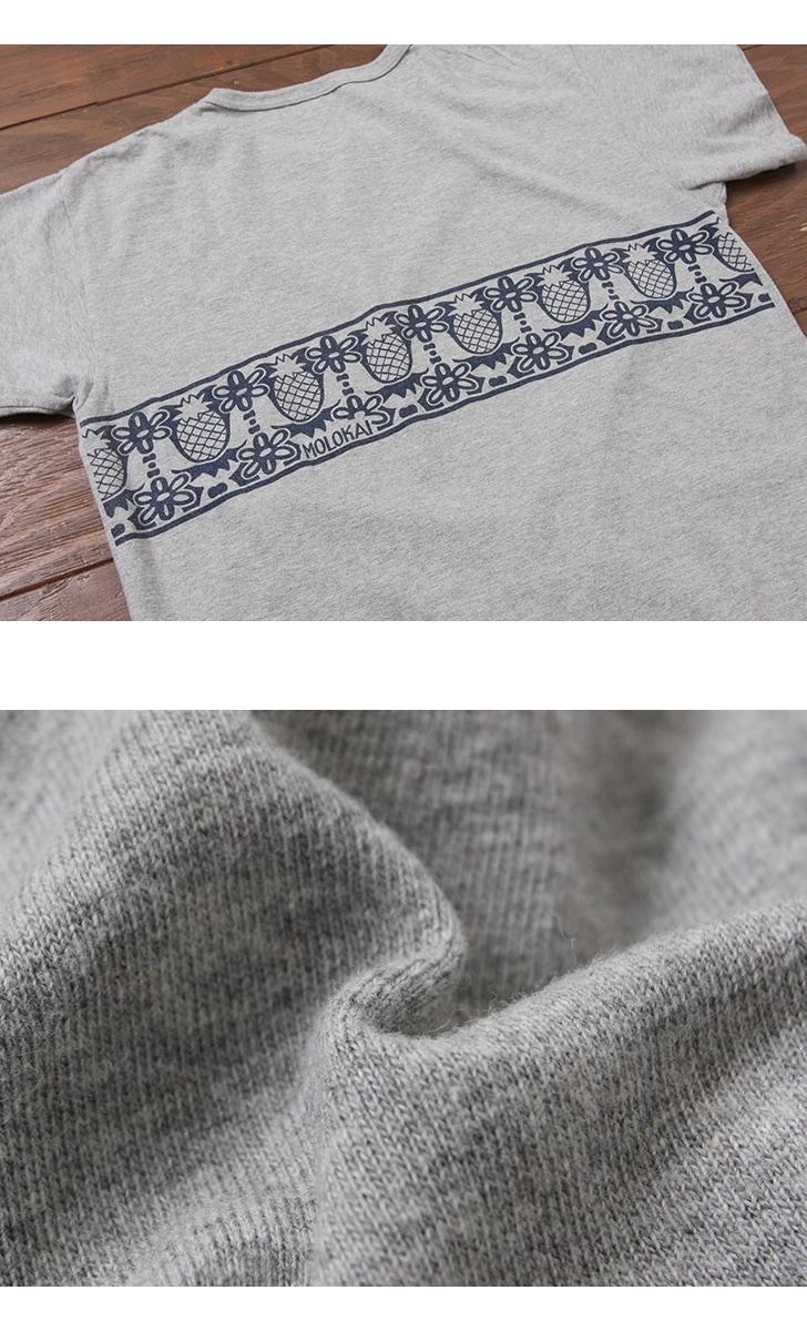 ウエアハウス WAREHOUSE 2nd hand Series プリントTシャツ 4064 [MOLOKAI]
