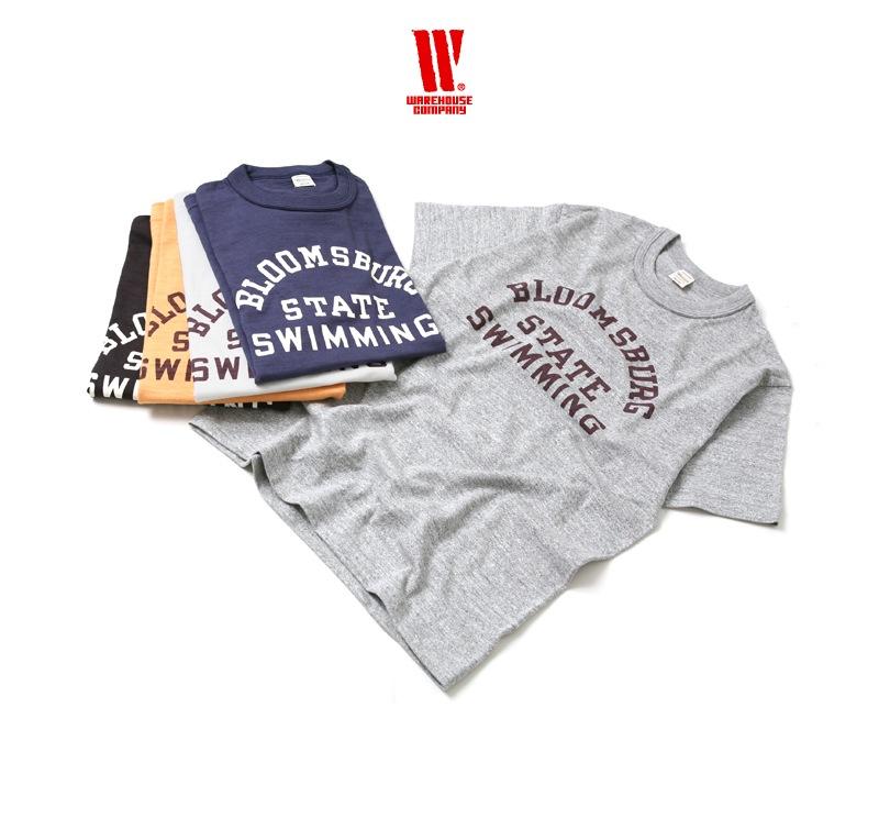 ウエアハウス WAREHOUSE 半袖Tシャツ 4601 [BLOOMSBURG]