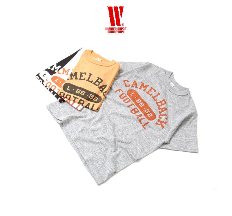 ウエアハウス WAREHOUSE 半袖Tシャツ 4601 [CAMELBACK]