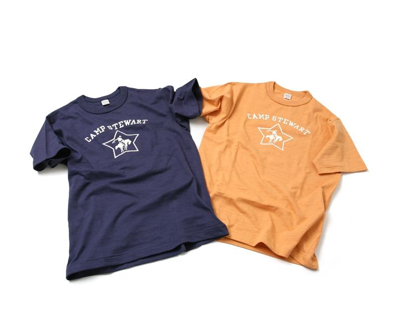 ウエアハウス WAREHOUSE 半袖Tシャツ 4601 [CAMP STEWART]