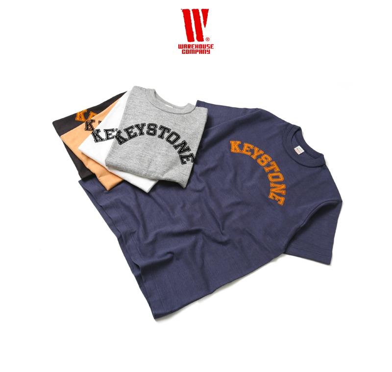 ウエアハウス WAREHOUSE 半袖Tシャツ 4601 [KEYSTONE]