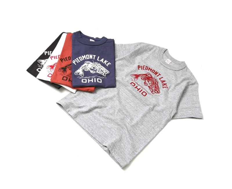 ウエアハウス WAREHOUSE 半袖Tシャツ 4601 [PIEDMONT LAKE.]