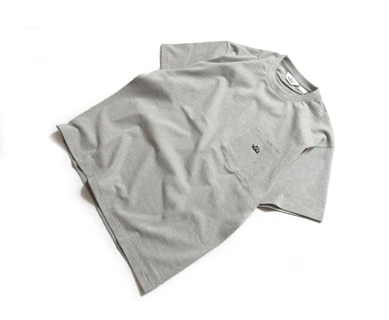 WOOLRICH OUTDOOR ウールリッチアウトドア ポケット付き刺繍入りTシャツ NOTEE1932
