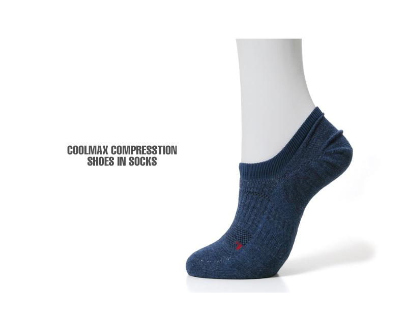 ANONYMOUSEISM アノニマスイズム COOLMAX コンプレッションパイルシューズインソックス 靴下 15184400
