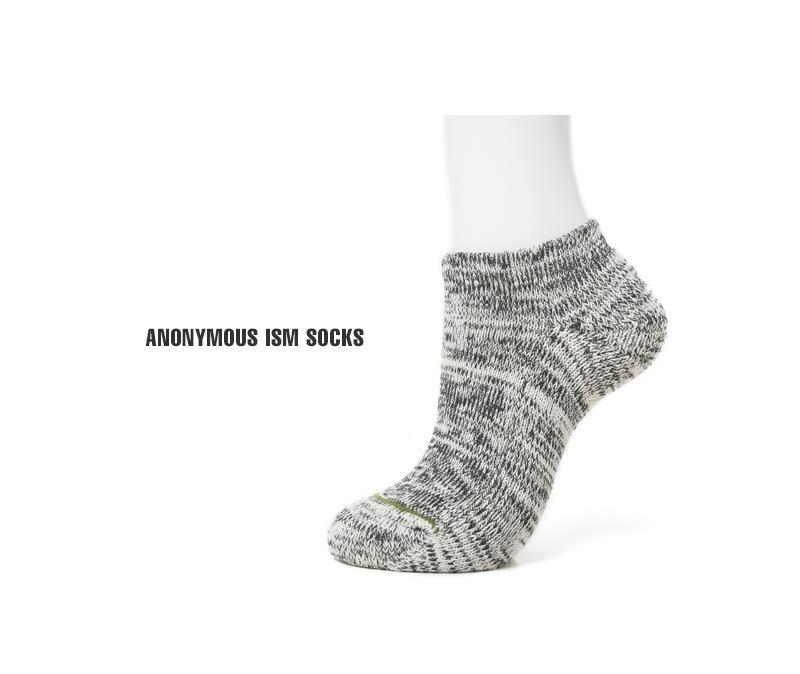 ANONYMOUSEISM×GO HEMP オーガニックコットン パイルアンクルソックス 靴下 15186300