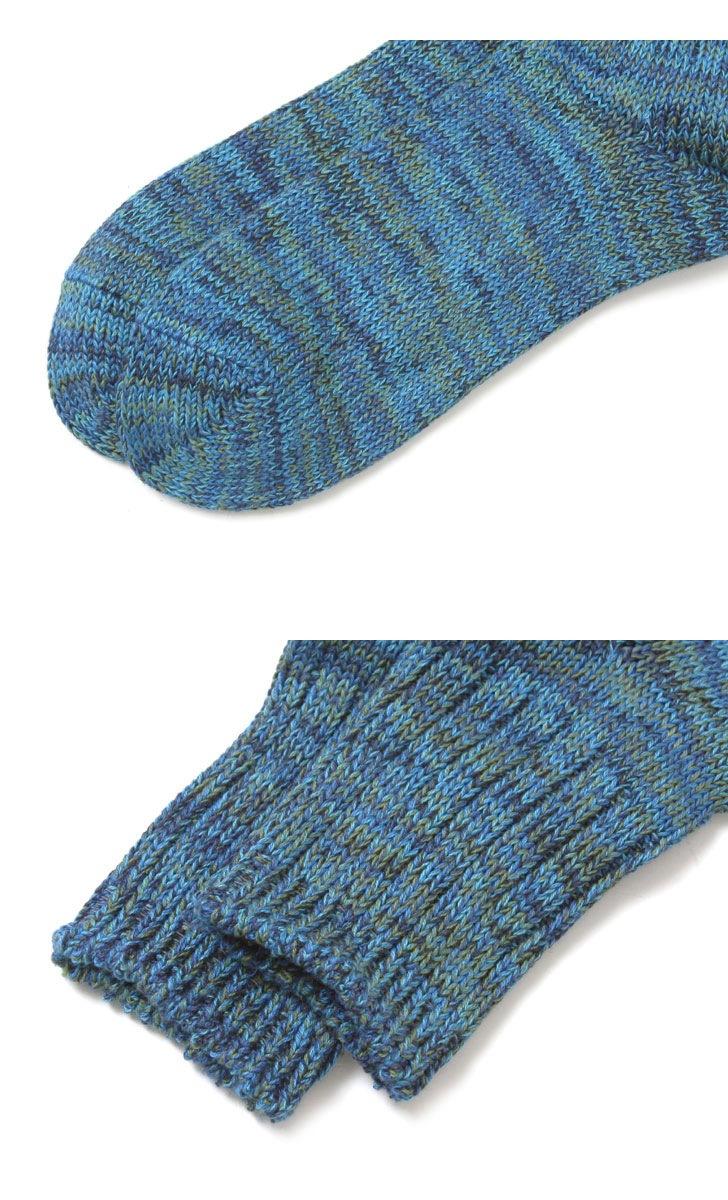 ANONYMOUSEISM アノニマスイズム 5カラーMIXクォーターソックス 靴下 15190100
