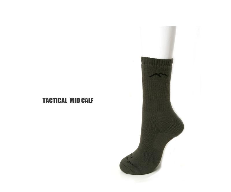 DARN TOUGH ダーンタフ ソックス 靴下 タクティカルミッドカフエクストラクッション Mid-Calf Extra Cushion 14033 メリノウール