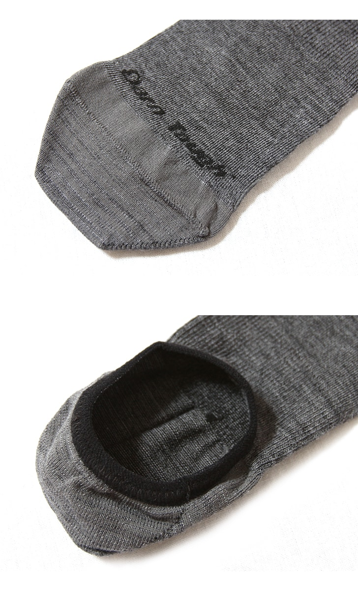 DARN TOUGH ダーンタフ ソックス 靴下 トップレスソリッドノーショー ライト 1683 メリノウール
