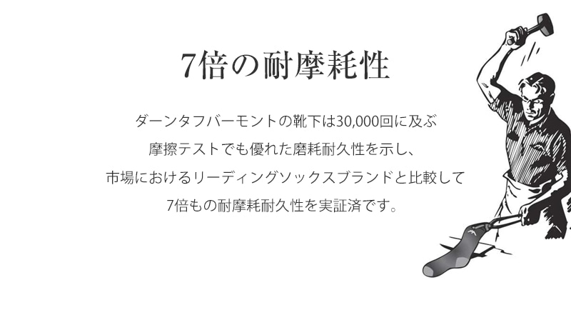 DARN TOUGH ダーンタフ ソックス 靴下 タクティカル ブーツクッション Boot Cushion T4021 メリノウール