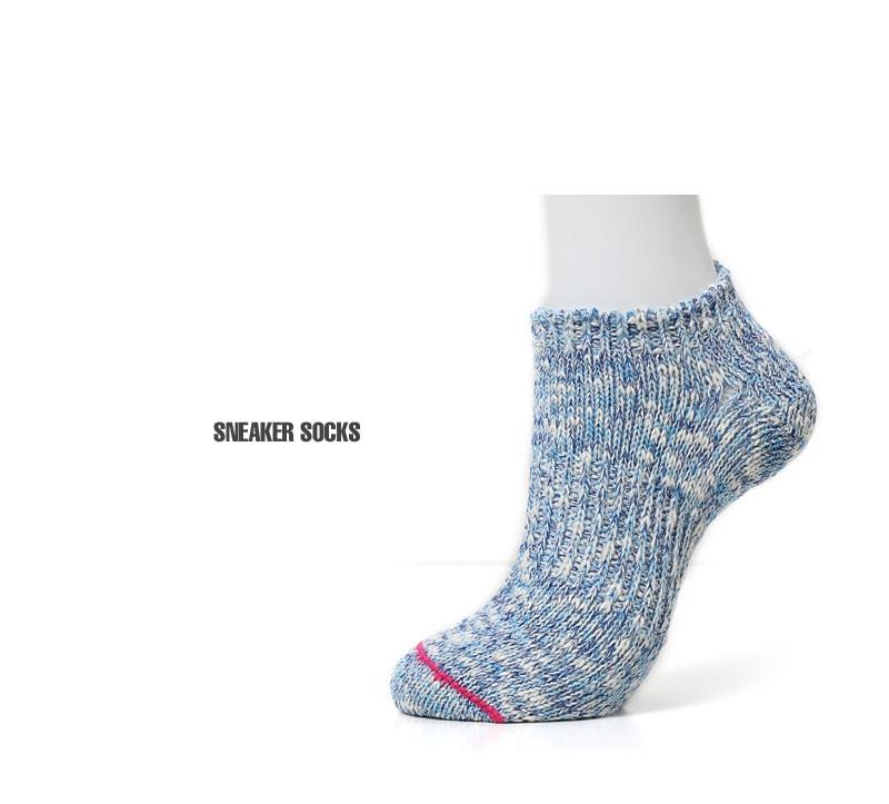 LE MONDE ル・モンド ルモンド パステルカラー スニーカー ソックス 靴下 118560 【レディース&メンズ】