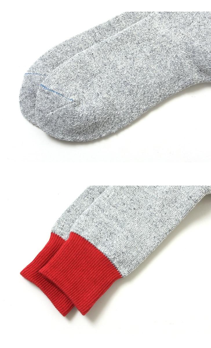 RoToTo ロトト 靴下 ダブルフェイスソックス シルク&コットン R1034 【レディース&メンズ】