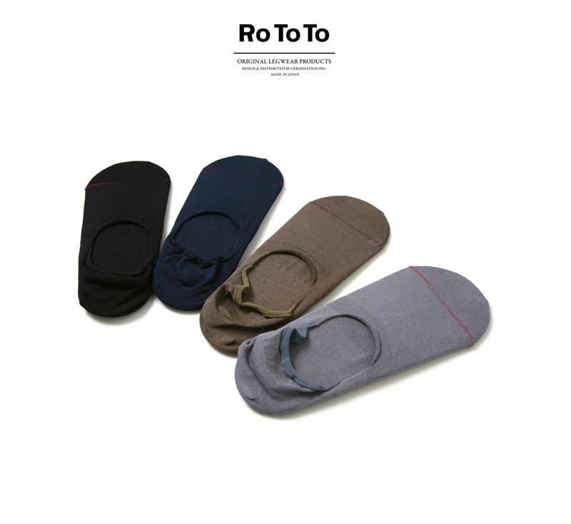 RoToTo ロトト 靴下 HIGH GAUGE FOOT COVER ハイゲージフットカバーソックス R1082 【レディース&メンズ】