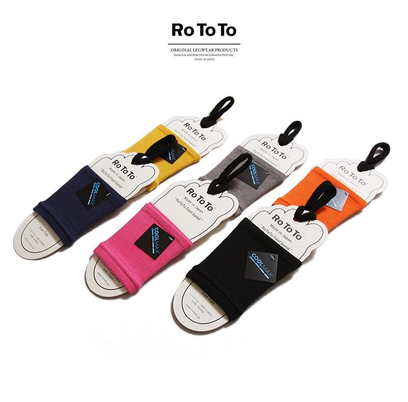 RoToTo ロトト 靴下 FOOT BAND フットバンド R1097 レディース メンズ