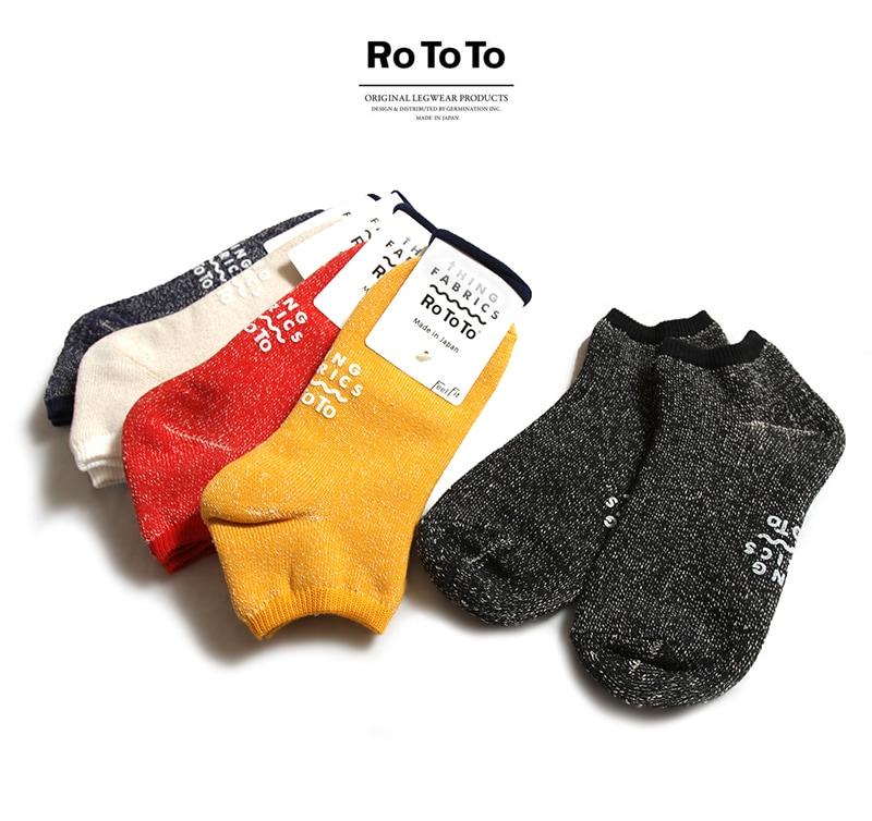 RoToTo ロトト 靴下 TIPTOP 365 ORGANIC HEATHER PILE SOCKS オーガニックヘザーパイルソックス TFOT-1030 レディース メンズ